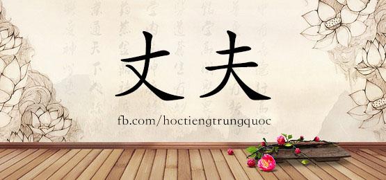 0290 – 丈夫 – HSK2 – Từ điển tam ngữ 5099 từ vựng HSK 1-6