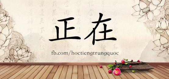 0295 – 正在 – Từ điển tam ngữ 5099 từ vựng HSK 1-6
