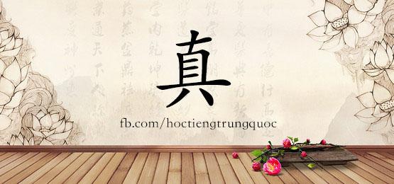 0294 – 真 – HSK2 – Từ điển tam ngữ 5099 từ vựng HSK 1-6