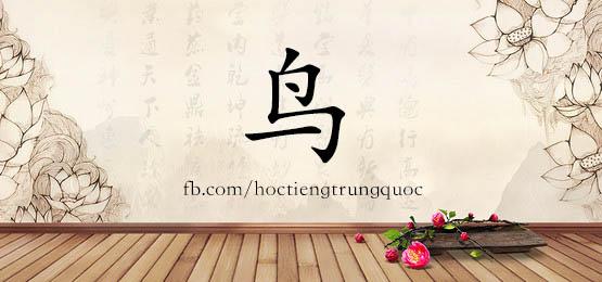 0473 – 鸟 – HSK3 – Từ điển tam ngữ 5099 từ vựng HSK 1-6