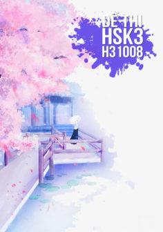 Xem, tải miễn phí đề thi HSK3 có đáp án (Kèm Audio) – Đề H31008.PDF